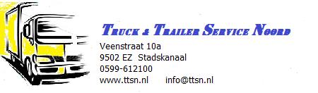 Logo van Truck en trailer service noord
