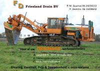 Logo van Friesland drain b.v.