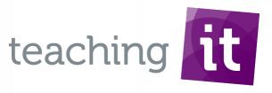 Logo van Teachingit harrie van der sanden